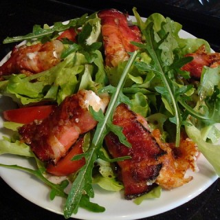 Spinach Salad with Bacon